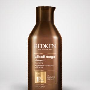 the hair gallery cavan, hair salon Ireland, redken mega all soft,shampoo