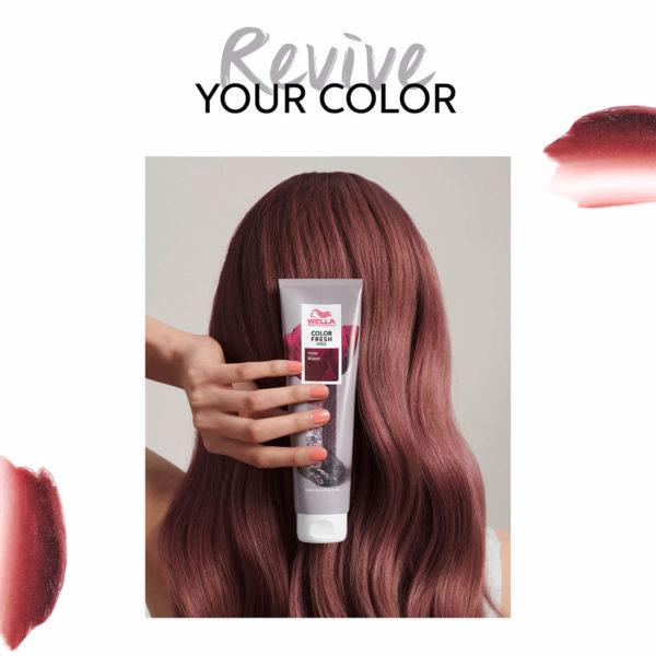 the hair gallery cavan, hair salon ireland, wella, color fresh mask